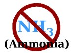 Ammonia isn't a good choice