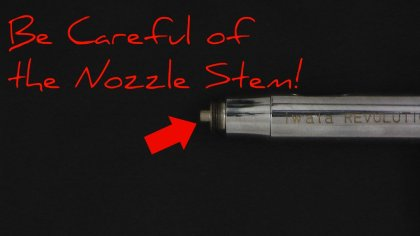 Do Not Damage the Nozzle Stem
