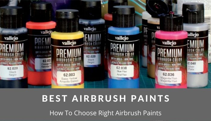 Choose The Right Airbrush Paint