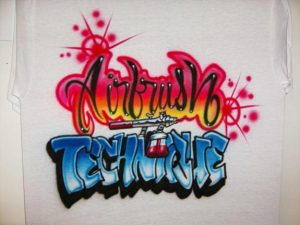 How to airbrush T Shirts