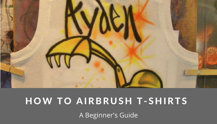 How To Airbrush T Shirts – Beginner's Guide - Airbrush Guru
