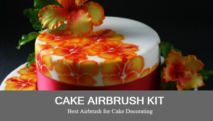 5 Best Airbrush Kits For Cake Decoration Buying Guide